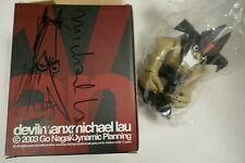 Signed Michael Lau Devilman figure Go Nagai/Dynamic Planning 2003