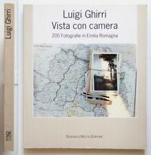 Luigi Ghirri Vista con camera 200 Fotografie in Emilia Romagna Motta Ed. 1992 1a