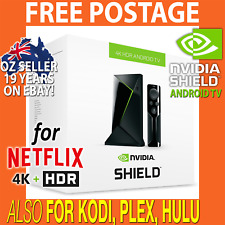2018 4K+HDR NVIDIA SHIELD TV Box Android Media Player 16GB for Kodi,Netflix,Plex