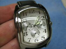 Men's GUESS Water Resistant Multi-Function Watch w/ New Battery