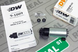 Deatschwerks 340lph DW300C Compact Fuel Pump VR38DETT 08-15 GTR Set Up Kit