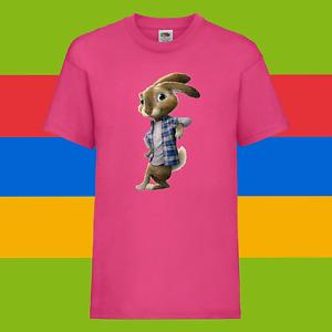 Peter Rabbit Cartoon The Runaway Kids Boys Girls Birthday Gift Top T-Shirt 04