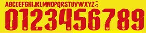 Arsenal 2014-2015 Away Football Shirt Nameset Any Name & Number