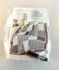 *New* Annie's Crochet Afghan Stitch Sampler Kit Blocks 28-30