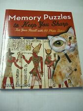 Memory Puzzles To Keep You Sharp Book By Puzzles Wright Press (Paperback, 2018)