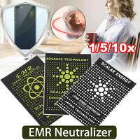 1/5/10X EMR Energy Phone Sticker Anti-radiation Woman Protection Quantum Shiled