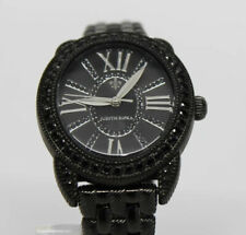 Judith Ripka Madison Watch, Black Spinel Accents - Case, Hour Markers, Crown