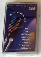 VARIOUS ARTISTS - 20 YEARS OF MUSIC - Musicassetta Sigillata MC K7 Cassette Tape