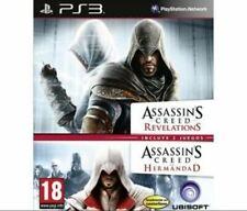 PS3 Assassin's Creed Revelations & Brotherhood **New & Sealed** Spanish Import