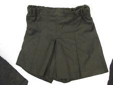 BNWT Girls Smart Black Sz 10 School Uniform Sports Skorts Style Shorts