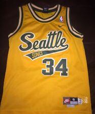 Nike Rewind Seattle Sonics RAY ALLEN swingman youth jersey S (8)