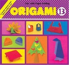 Origami Book 13- Penguin, Peacock