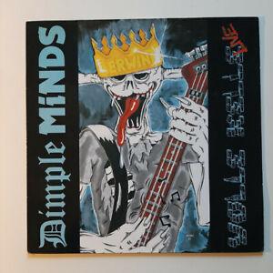 DIMPLE MINDS LP: VOLLE KELLE LIVE - Vinyl (1990) Top RAR