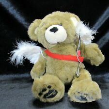 "Build A Bear Brown Black  15"" Bearemy Faux Leather Paw Pads Cupid Wings Costume"