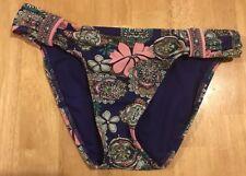 e9b0348613591 Junior's Hobie Swimsuit Bottoms Navy Blue/Multi-Color Size Small