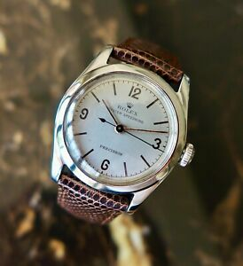 A RARE & STUNNING MID-SIZE VINTAGE 1958 ROLEX OYSTER SPEEDKING EXPLORER DIAL