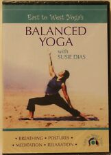 New Balanced Yoga with Susie Dias workout fitness exercise Dvd meditation relax