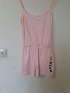 Adidas Neo Shorts Playsuit Jumpsuit Pink Size Xs 6 8