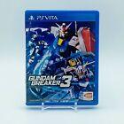 Gundam Breaker 3 (Playstation Vita, 2016) PS Vita CIB
