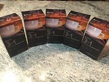 GANO CAFE 3 IN 1 COFFEE WITH GANODERMA LUCIDUM OR REISHI BY GANO EXCEL 5 BOXES