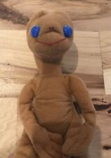 "Vintage  ET Extra Terrestrial Doll 8"" Plush Kamar 1982 Showtime Movie Ships Free"