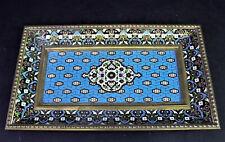 antikes Tablett - Cloisonne Schreibablage