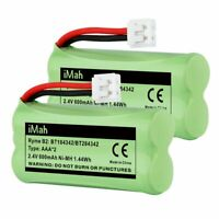 New 2 Pack Replacement Rechargeable Battery BT18433 BT28433 for VTech ATT Ph...