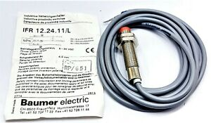 Baumer Electric IFR 12.24.11/L Inductive Proximity Switch | 5-30 VDC | 4.0 MM
