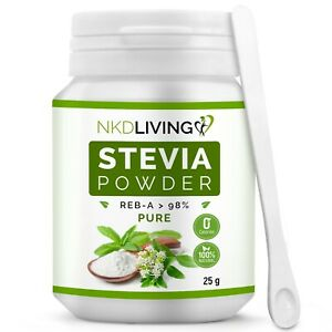 NKD Living Pure Stevia Extract Powder 25g