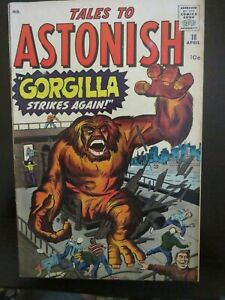 Tales To Astonish Silver Age Comic # 18 April 1961