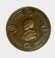 s820_3) Vaticano Leone XIII medaglia giubileo 1900 Ø=47 appiccagnolo rimosso