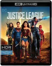Justice League (4K Ultra Hdblu-ray Disc, 2018) New