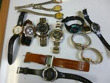 HUGE MULTI LOT OF MENS AND WOMENS WRISTWATCH  FOR PARTS LOT #44