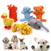 Chew Toys Braided Cotton Rope Toys Durable Dog Teeth Cleaning For Pet Bite Toy