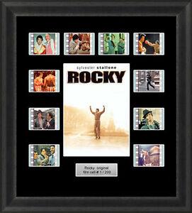 Backlight Rocky (1976) 35mm Film Cells Movie Cell Filmcells Backlit