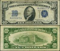FR. 1705 $10 1934-D Silver Certificate Narrow VF