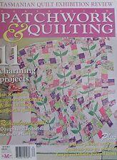 Patchwork & Quilting Magazine Vol 18 No 7 Remembrance Quilt