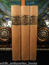 1786 Sci-fi Fantasy L'An 2440 Utopia Mercier Time Travel 3v SET Science Fiction