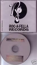 JAY Z The City Is Mine RARE EDIT PROMO Radio DJ CD Single BLACKSTREET USA 1997