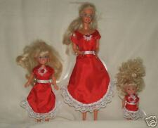NG Creations Sewing Pattern #43 Valentine Dresses fits Barbie Stacie Kelly