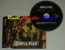 CD Singolo SIMPLE PLAN Welcome to my life PROMO 2004 eu LAVA PRO15096(S2) mc dvd