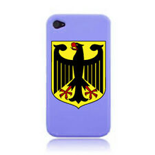 GERMAN / GERMANY CREST iPHONE CASE COVER STICKER ON A 3G, 4S AND 5