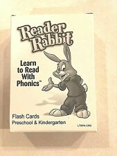 """Reader Rabbit """"Learn to Read With Phonics"""" Flash Cards-2 Complete Sets"""