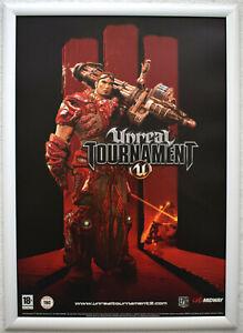 Unreal Tournament RARE PC 42cm x 59cm Promotional Poster