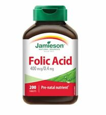 Jamieson Folic Acid 0.4mg 200Tablets