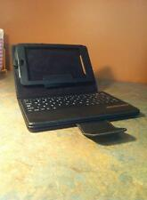 Nexus 7 tablet leather case with detachable bluetooth keyboard