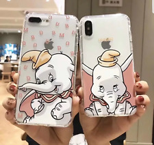 COVER SILICONE DISNEY DUMBO  IPHONE 6 6S 7 8 PLUS X XS XS MAX XR 11 PRO MAX