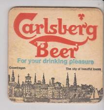 Bierdeckel / Beercoaster / Bierviltje Carlsberg Beer