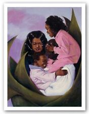 Family Tree Laurie Cooper African American Art Print 12x16
