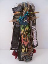 Ritual Casket Voodoo Doll by Queen Marie Laveau, Vampire Wooden Stake -New w COA